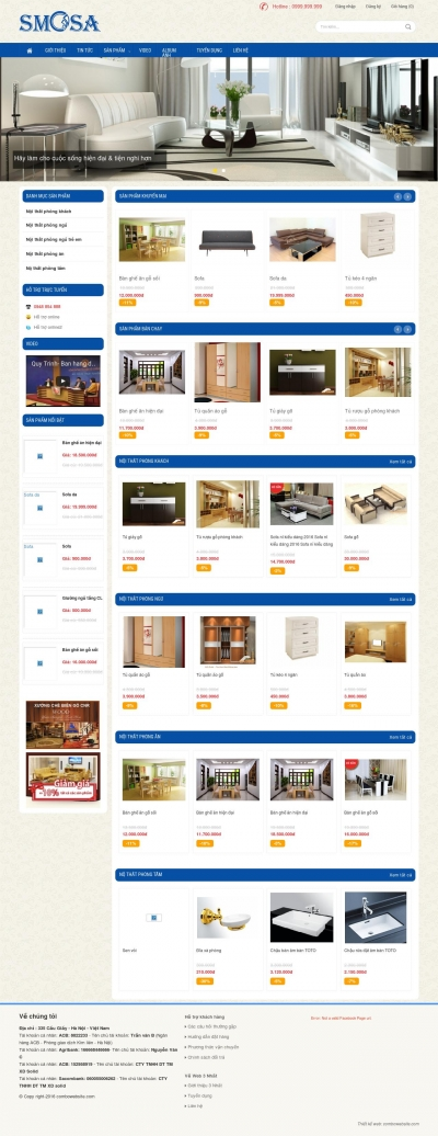 Webshop Nội thất