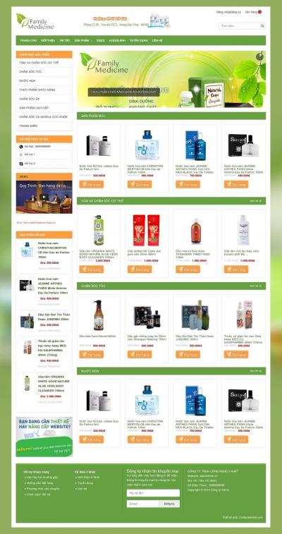 Webshop bán hàng
