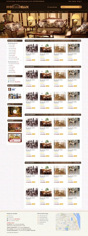 Web bán nội thất đồ gỗ