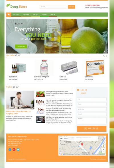 Webshop Sức Khỏe