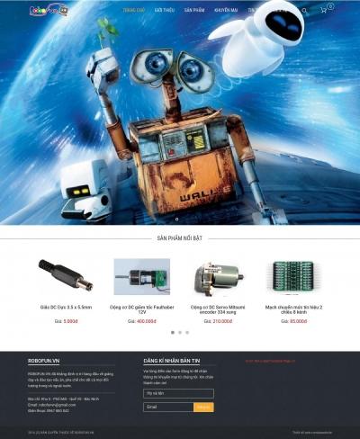Webshop đồ điện tử