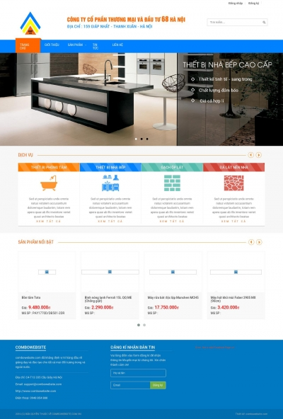 Website Nội thất